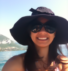 Ghazaleh hat and sunglasses