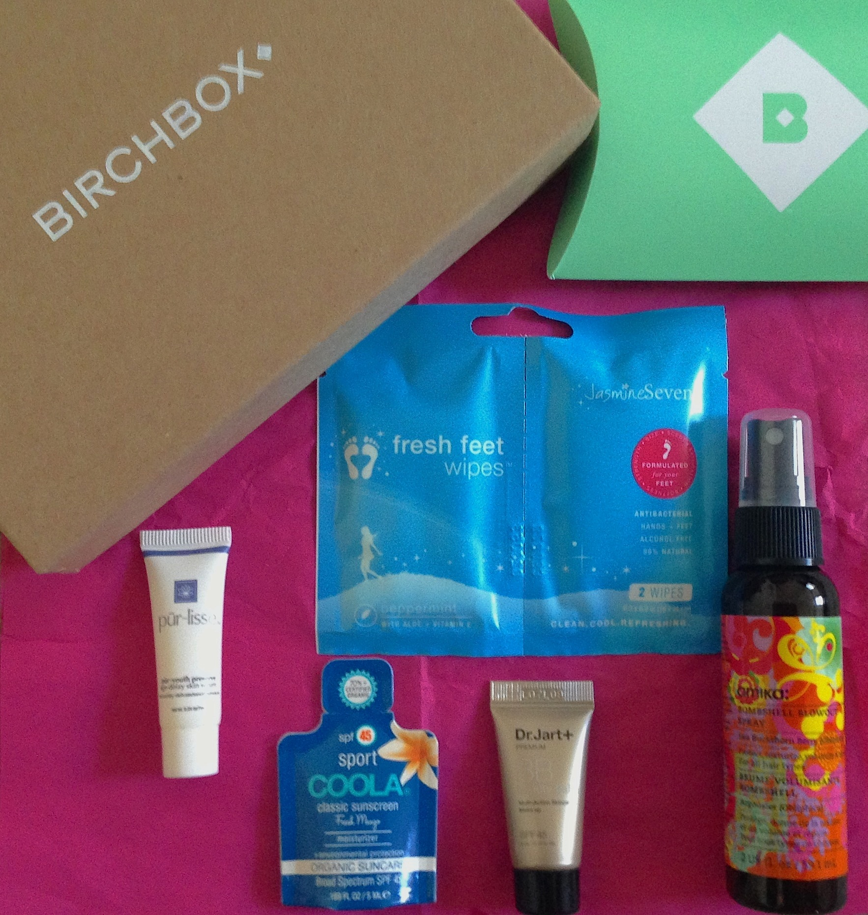 I Received A Birchbox Subscription As Gift For My Birthday And First One Arrived Yesterday It Was Fun Surprise To Come Home After Week In LA