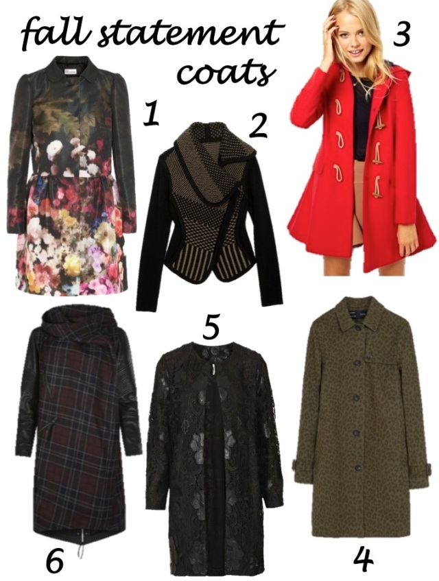 fall statement coats