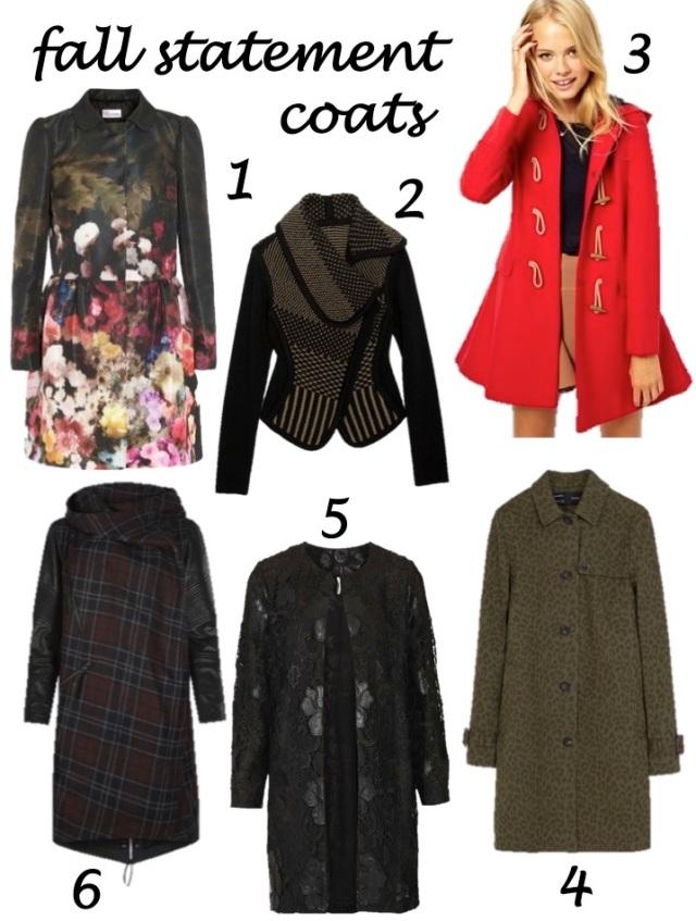 fall statement coats