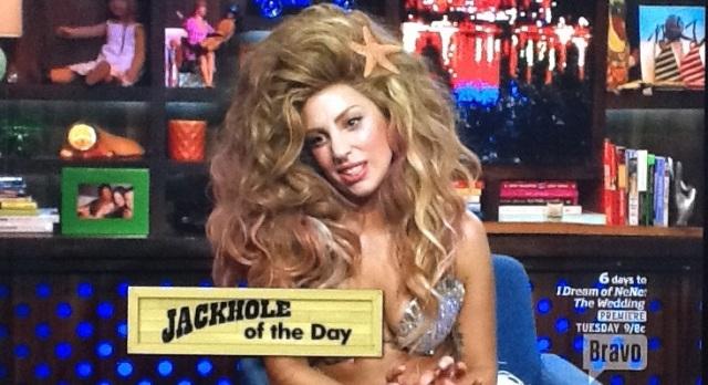 Lady Gaga flip flops