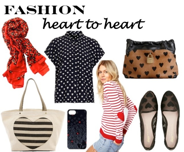 a fashion heart to heart by beauty and sass