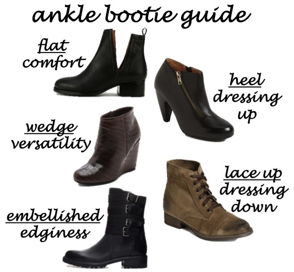 ankle bootie guide