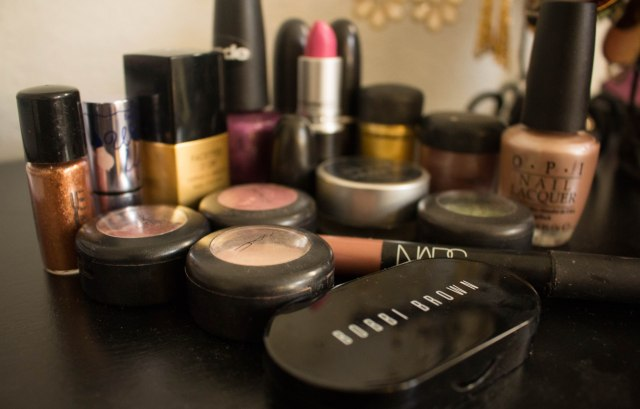 DIY makeup repairs