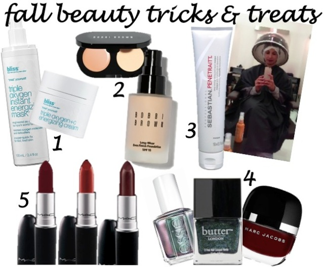 fall beauty tricks and treats