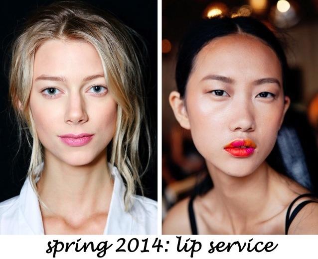 fw spring 2014 lip service