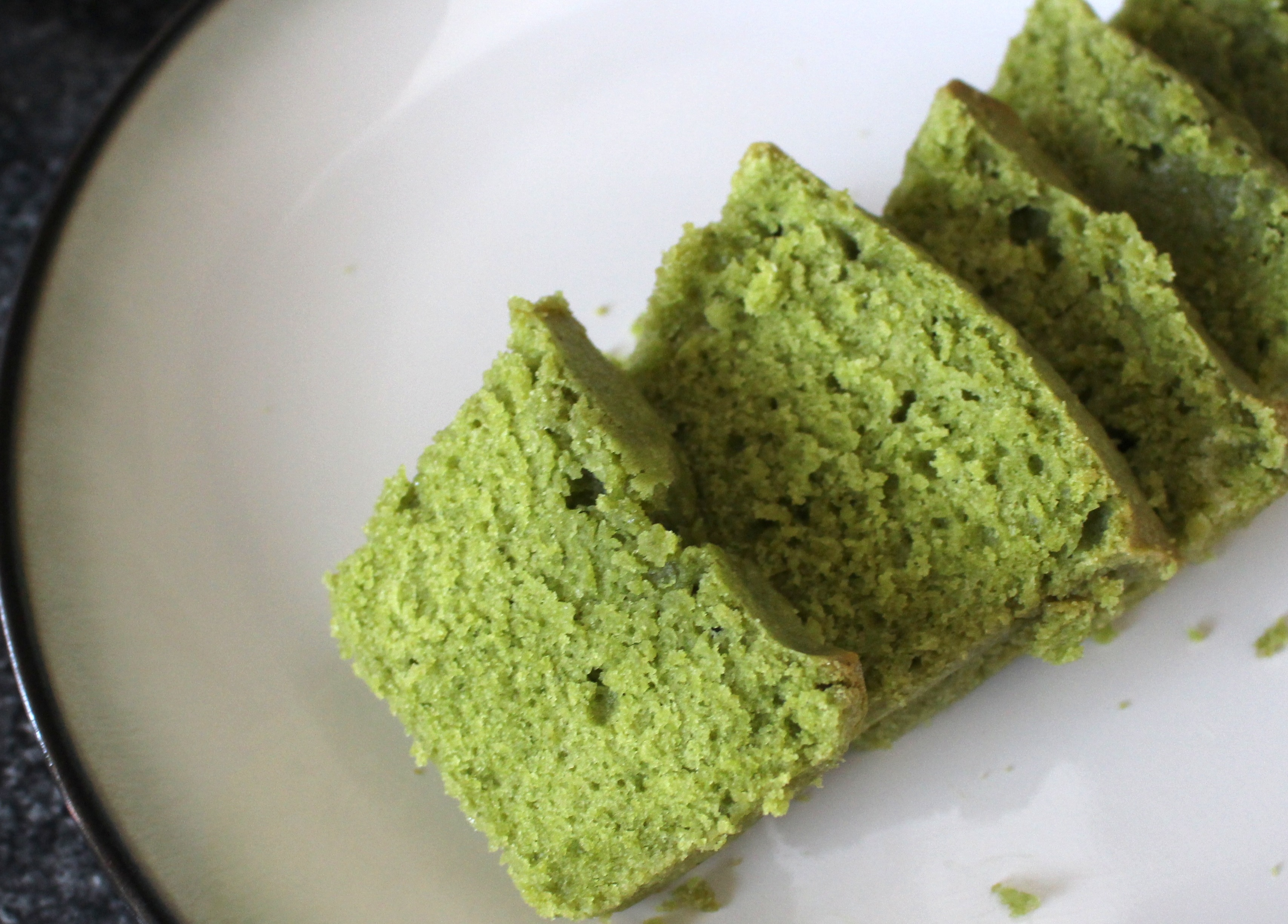 matcha green tea pound cake recipe beauty and sass. Black Bedroom Furniture Sets. Home Design Ideas