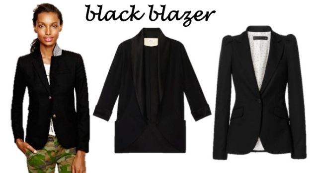 4 coats every sasstress must have - a black blazer