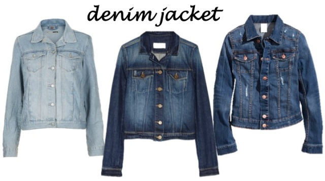 4 coats every sasstress must own - the denim jacket