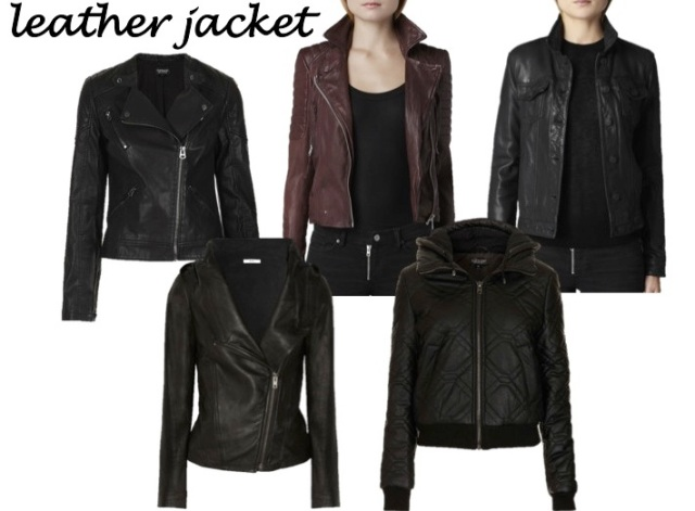 4 coats every sasstress must own - the leather jacket