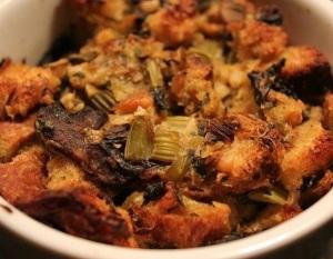 Kale & Mushroom Stuffing