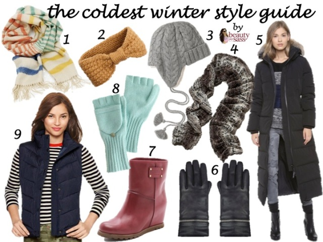 the coldest winter style guide by beauty and sass