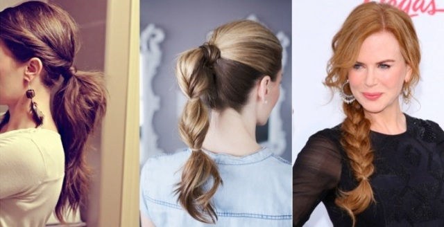 5 simple hairstyles for lazy hair days