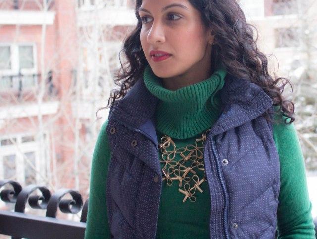 Aspen fashion puffer vest