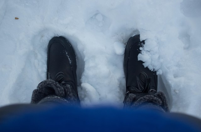 snow boots in Aspen