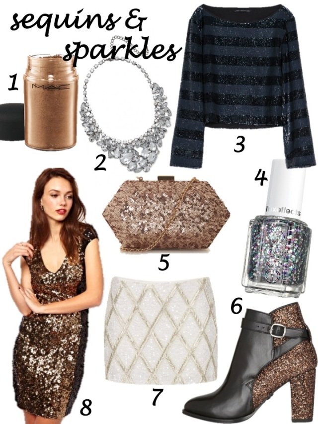 holiday sequins and sparkles shopping guide
