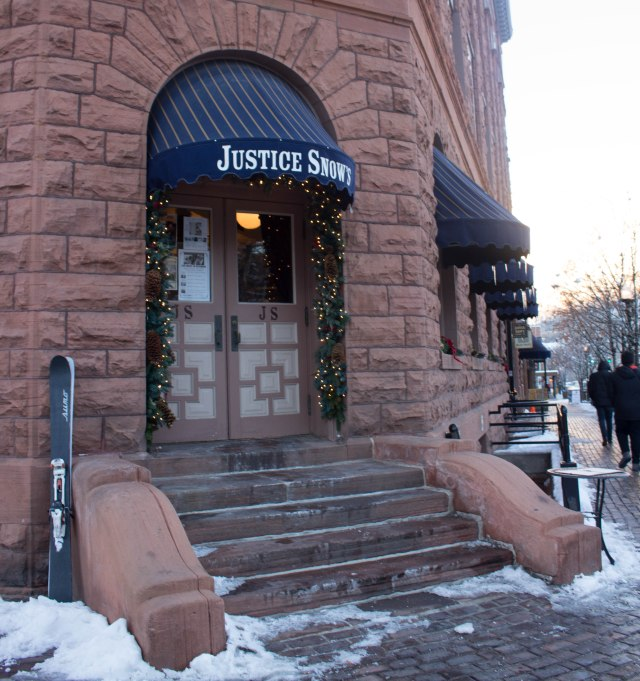 Justice Snow in Aspen