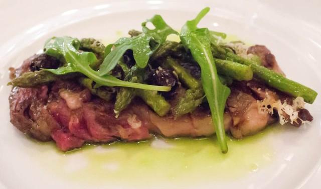 steak at Chef's Club in Aspen