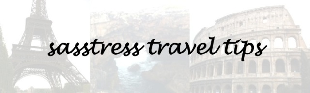 travel tips by beauty and sass