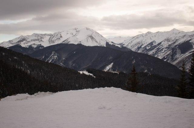 views Aspen Mountain