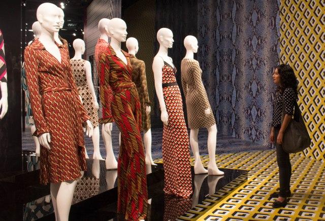 Diane Von Furstenberg wrap dress 40 year anniversary