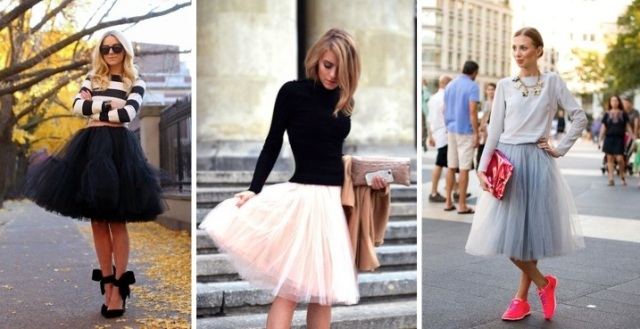 introducing an old trend to your closet: the tulle skirt