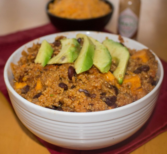 quinoa and sweet potato vegetarian chili-1