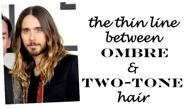 the thin line between ombre and two tone hair by beauty and sass