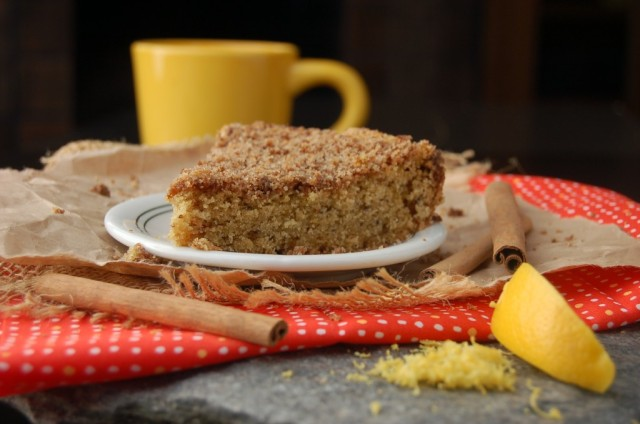 cinnamon vanilla coffee cake