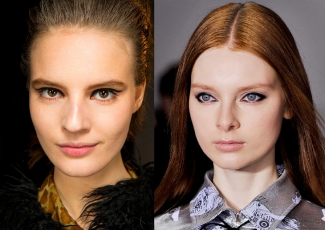 Fall 2014 beauty trends - bold eyeliner via beauty and sass
