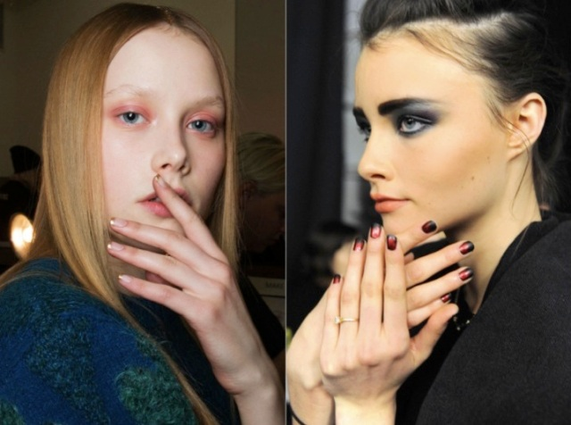 Fall 2014 beauty trends - nail art via beauty and sass