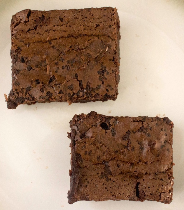 gluten free salted chocolate fudge brownie recipe