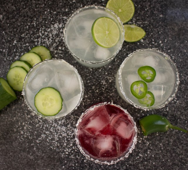 simple margarita recipe, 4 ways