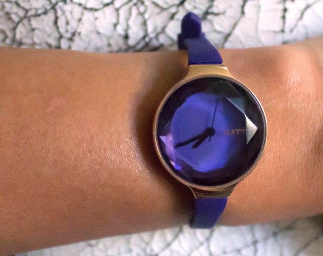 RumbaTIme watch in Sapphire