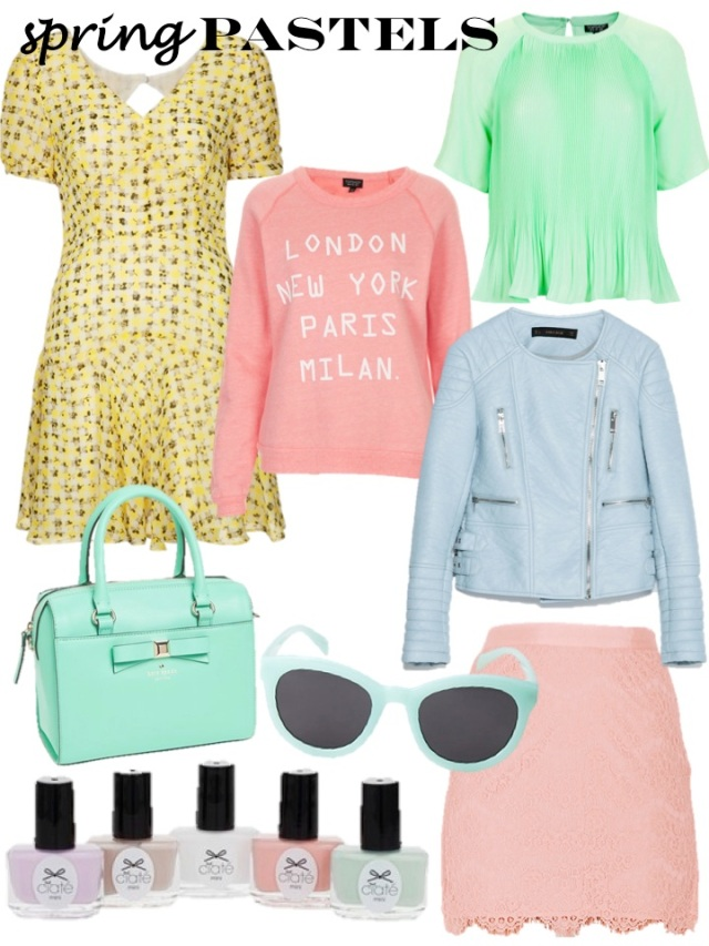 spring pastels by beauty and sass