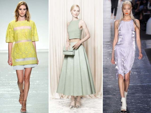 spring pastels on the runway by beauty and sass