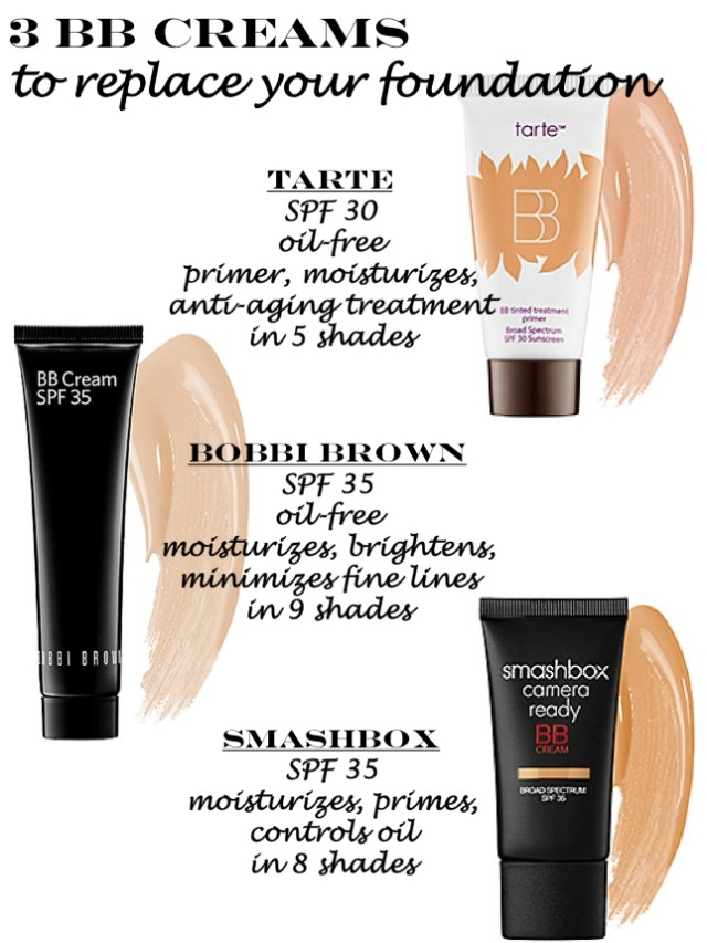 3 BB creams that can replace your foundation