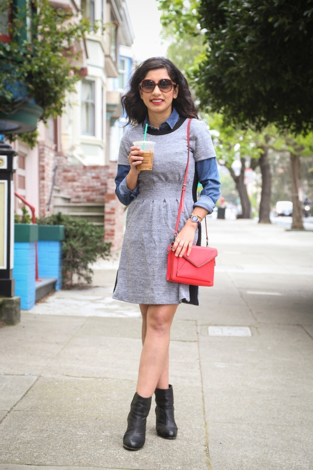 layered dress by beauty and sass