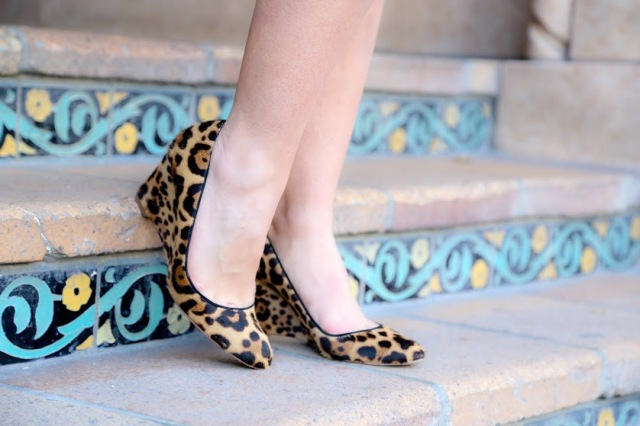 leopard wedge pumps via beauty and sass